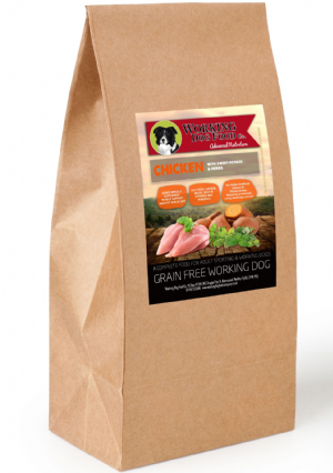 Grain Free Working Dog Food Co. Chicken With Sweet Potato & Herbs